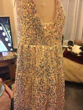 Gorgeous Sequinned Mini Dress BNWT Size M