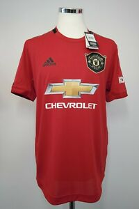 Manchester United Home Authentic Player/Match Issue Shirt Size 5 2019/2020