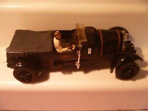 VINTAGE TRIANG SCALEXTRIC SLOT CAR BLACK BENTLEY - LOFT FIND - WORKING