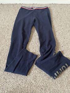 tommy hilfiger blue leggings girls age 12-13
