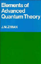 Elements of Advanced Quantum Theory-ExLibrary