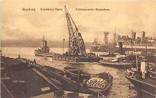 B20303 Hamburg Kuhwarder Hafen Schwimmender Riesenkran