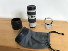 Objectif Canon EF 70-200 mm F4L USM