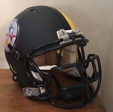 Pittsburgh Steelers Custom Concept Full Size Riddell Revolution Football Helmet!