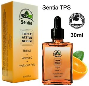 Vitamin C,E Face serum + Retinol, Hyaluronic Acid Best Anti Ageing Skincare 30ml