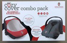 Uw Wisconsin Badgers Little Scholar Combo Pack Sun/Bug & Lightweight Cozy Covers