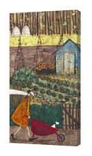Sam Toft - Summer - 50 x 100cm Canvas Print Wall Art WDC93136
