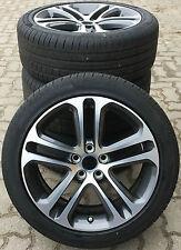 "Original Jaguar XE 18"" Templar RUEDAS COMPLETAS CON Pirelli Neumáticos de verano"