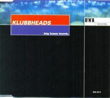 KLUBBHEADS - Big bass bomb 7TR CDM 2000 / HOUSE / Incl BEN LIEBRAND Minimix