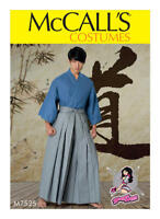 McCall's SEWING Pattern M7525 Kimono & Pants OSZ - ONE SIZE ~ YAYA HAN
