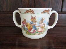 Royal Doulton Bunnykins Cup Mug  PRINCE WILLIAM BIRTH 1982 NURSERY SCENE