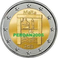 MALTA 2018 2 EURO FDC UNC  BENI CULTURALI PATRIMONIO MALTE МАЛЬТА 马耳他 3/5