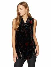 Johnny Was Velvea cowl neck top blouse sleeveless rayon/silk NWT XL $220.00