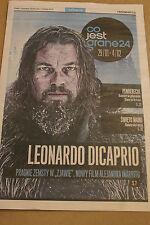 Co jest Grane - Leonardo Dicaprio - Polish magazine