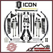 """ICON 2017-UP Ford F250 F350 Super Duty 4WD 7"""" Suspension System Stage 5 Kit"""