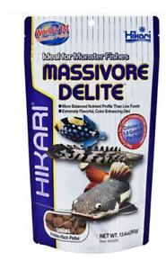 Hikari Sinking Massivore Delite 380g Bottom Feeders Pellet Carnivore Fish Food