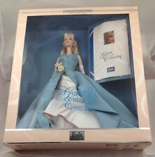 2000 Barbie Doll Blonde Grand Entrance Collection 28533 Blue Dress Carter Bryant