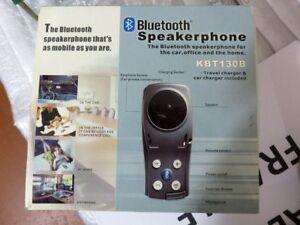 Carcom altavoz bluetooth kbt-130b bluetooth manos libres para automóvil del telé