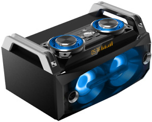 IBIZA Soundsystem SPLBOX120 120W, USB, SD, FB, BT,Rec Sound Box