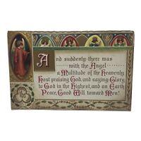Vintage Postcard Christmas 1912 Christmas Angels Greeting Card Pennsylvania