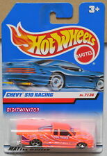 HOT WHEELS 2000 CHEVY S10 RACING INTERNATIONAL CARD #7/36 W+