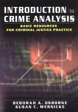 Introduction to Crime Analysis: Basic Resources for Criminal Justice-ExLibrary