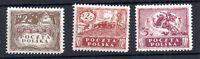 Poland Levant 1919 2m 2.5m & 5m mint MH SG10, 11, 12 WS11167