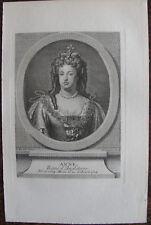 ANNE REINE D'ANGLETERRE ( 1664-1714), PORTRAIT