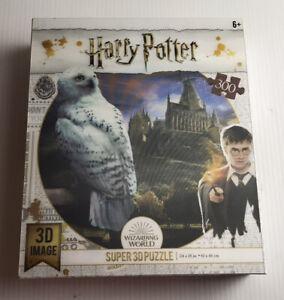Harry Potter 300 Piece Super 3D Puzzle Wizarding World 61 x 46cm