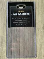 1 New Top Loader Rigid Plastic Holder 3.5x7.25 - fits tickets, bills, cards, etc
