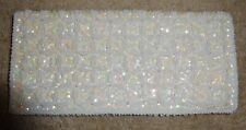 Vintage Evening Purse Hand Made in the Crown Colony of HK With Beads And Sequins