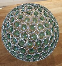 Modern Chrome & Glass Ceiling Pendant Light Shade Jewel Ball Chandeliers Shades
