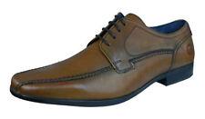 Zapatos de vestir con cordones de vestir de hombre en color principal marrón