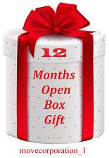 12 Month Warranty gift openbox skybox zgemma amiko h2s v8s v9s vu+ Solo Duo