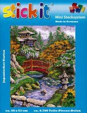 Mini Stecksystem Japanischer Garten ca. 9.700 Teile mit XXL-Steckvorlage