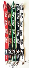 VANS LANYARDS detachable keychain clip, ID holder, camera/phone strap FREE SHIP