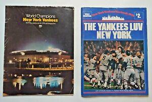 1979 New York Yankees Official Year Book & Scorebook / Magazine