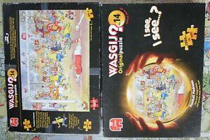 Jumbo Wasgij Original Puzzle 14-Football Madness: Complete