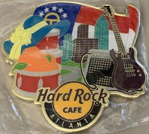 Hard Rock Cafe ATLANTA 2017 City Tee-Shirt Graphic Alternative Style MAGNET New!