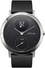 Withings Steel HR Hybrid Smartwatch Black/Black 40mm