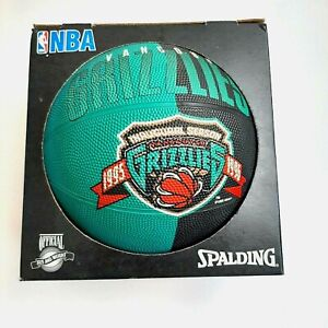 Spalding Vancouver Grizzlies NBA Team Official 1995 1996 Basketball New