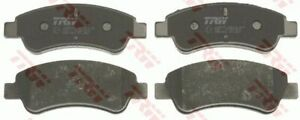 TRW Front Brake Pad Set GDB1463 DB1923 for DS DS 3 Convertible (SB_) 1.6 THP 165