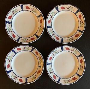 "SET of 4!!! Adams Lancaster English Ironstone Dinner Plates England 10 1/8"""