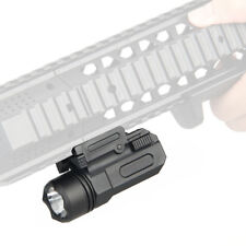 Tactical Led Flashlight Cree for Glock 17 19 20 21 22 23 with 20mm Weaver Rail
