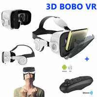 BOBO Z4 VR Virtual Reality 3D Glasses Private Theater with Headphone and GamePad