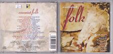 ESSENTIAL FOLK - (Donovan, Melanie, Nick Drake, The Strawbs...) CD