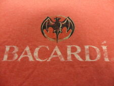 Official Bacardi 150 years T-Shirt Large Heathered Red L Short Sleeve S/S