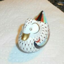 Vintage Hollohaza Hungary Porcelain Baby Duck