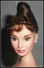 NUDE BARBIE  BREAKFAST AT TIFFANY'S AUDREY HEPBURN CELEBRITY DOLL FOR OOAK