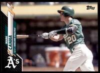 2020 Topps Series 2 Base Black #474 Mark Canha /69 - Oakland Athletics